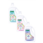 U Green Clean Baby 2.75 lt Çamaşır Deterjanı + 2.75 lt Yumuşatıcı + 2.75 lt Leke Çıkarıcı