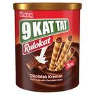 Ülker 9 Kat Tat Rulokat Çikolatalı Kremalı 170 gr Gofret
