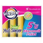Vindex 5'li Düz Klasik Sünger
