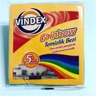 Vindex Rainbow 5'li Temizlik Bezi