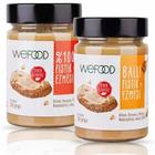 Wefood 300 gr Fıstık Ezmesi + 300 gr Ham Ballı Fıstık Ezmesi
