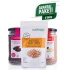 Wefood 300 gr Glutensiz Yulaf Ezmesi + 140 gr Wefood Ham Kakao Tozu + 150 gr Ham Kakao Parçacıkları