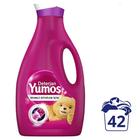 Yumoş Renkli Giysiler İçin 42 Yıkama 2520 ml Sıvı Çamaşır Deterjanı
