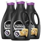 Yumoş Siyah ve Koyu Renkli 3x2520 ml Sıvı Deterjan