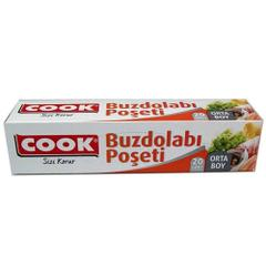 Cook Orta Boy Buzdolabı Poşeti