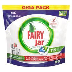 Fairy Jar Hepsi Bir Arada 115'li Bulaşık Makinesi Tableti
