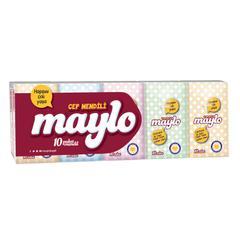 Maylo 10x10 Yaprak Cep Mendili