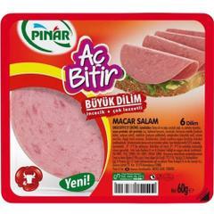 Pınar 60 gr Aç Bitir Macar Salam