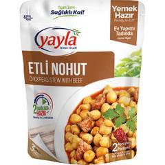Yayla Hazır 250 gr Etli Nohut Yemeği