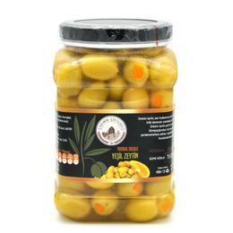 1 kg Portakal Dolgulu Yeşil Zeytin
