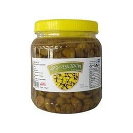 1 kg Yeşil Zeytin Çekirdeksiz