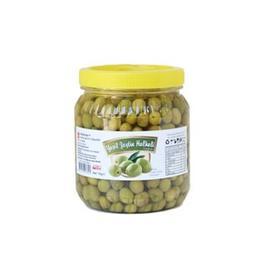 1 kg Yeşil Zeytin Halhalı Sağlam