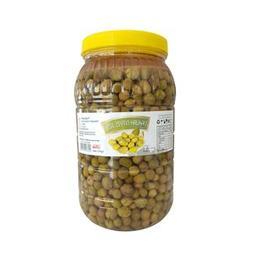 2 kg Hatay Yeşil Zeytin Halhalı Kırık