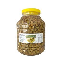 3,5 kg Hatay Yeşil Zeytin Halhalı Kırık