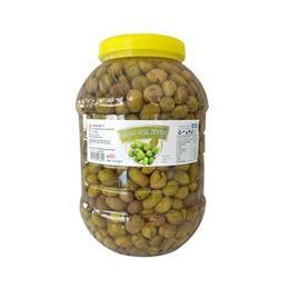 3,5 kg Hatay Yeşil Zeytin Kırık