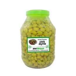 5 kg El Kırma Yeşil Zeytin