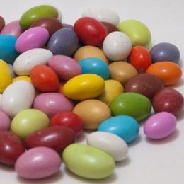 500 gr Çikolatalı Renkli Badem Draje