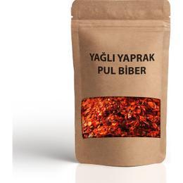 Aktar Shop 100 gr Yağlı Yaprak Pul Biber