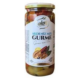 Alan Akdeniz Mix Gurme 450 gr Yeşil Zeytin