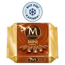 Algida Magnum Mini Badem 6'lı Paket Dondurma