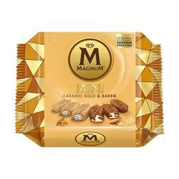 Algida Magnum Mini Caramel Gold Badem Dondurma