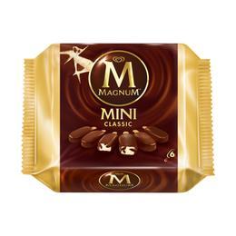Algida Magnum Mini Classic 6'lı Dondurma