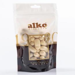 Alko 800 gr Beyaz Çikolata Kaplı Portakal Draje