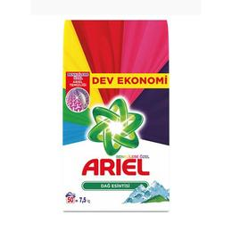 Ariel 7.5 kg Dağ Esintisi Renkliler Çamaşır Deterjanı