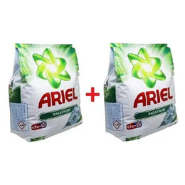 Ariel Dağ Esintisi 2x4.5 kg Çoklu Paket Toz Çamaşır Deterjanı