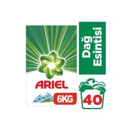 Ariel Dağ Esintisi Beyazlar İçin 6 kg Toz Çamaşır Deterjanı