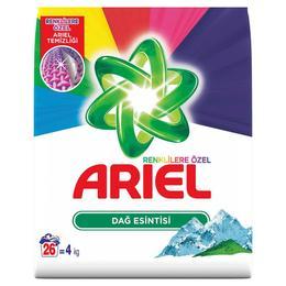 Ariel Parlak Renkler Dağ Esintisi 6 kg Toz Çamaşır Deterjanı