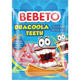 Bebeto Dracoola Teeth 80 gr Jelibon