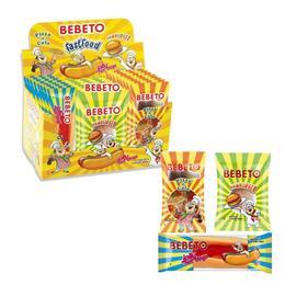 Bebeto Fasfood 24x35 gr Yumuşak Şeker