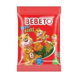 Bebeto Funny Bears 70 gr Jelibon