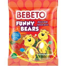 Bebeto Funny Bears 80 gr Jelibon