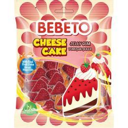 Bebeto Jelly Cheese Cake 80 gr Yumuşak Şeker