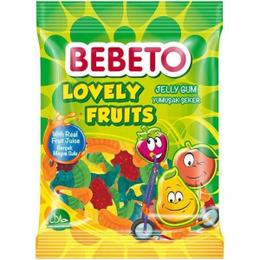 Bebeto Lovely Fruits 80 gr Jelibon