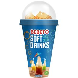 Bebeto Soft Drinks Karışık 6'lı Jelibon