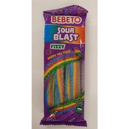 Bebeto Sour Blast Fizy Happy Mix Fruit 2x180 gr Yumuşak Şeker
