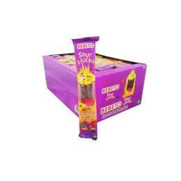 Bebeto Sour Stick Frenk Üzümü 24x35 gr Yumuşak Şeker