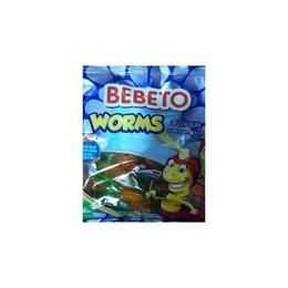 Bebeto Worms 12x80 gr Jelibon