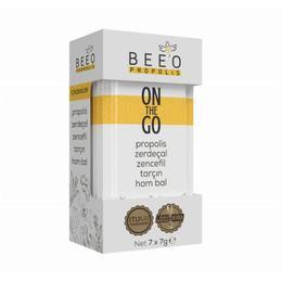 Bee'o On The Go 7x7 gr Propolis Zerdeçal Zencefil Tarçın Ham Bal