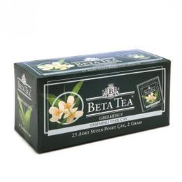 Beta Jasmine Green Bardak Poşet 25 x 2 gr Yaseminli Yeşil Çay