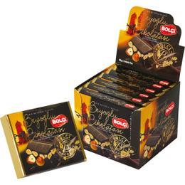Bolçi 90 gr Fındıklı Tablet Bitter Beyoğlu Çikolatası