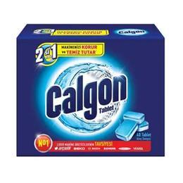 Calgon Tablet 40'lı Çamaşır Makinesi Kireç Önleyici