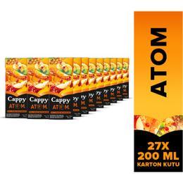 Cappy Atom 27x200 ml Meyve Suyu