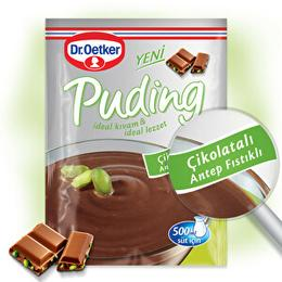 Dr. Oetker 105 gr Antep Fıstıklı Çikolatalı Puding