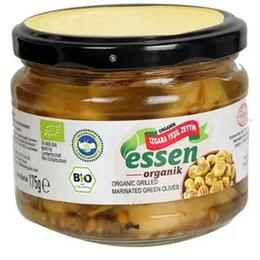Essen Organik Izgara 170 gr Yeşil Zeytin