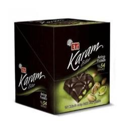 Eti Karam 54 6x60 gr Antep Fıstıklı Bitter Çikolata