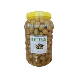 Etik Yerli Ürünler Selçuk Cinsi Tatlanmış Kırma Yeşil Zeytin 3 kg